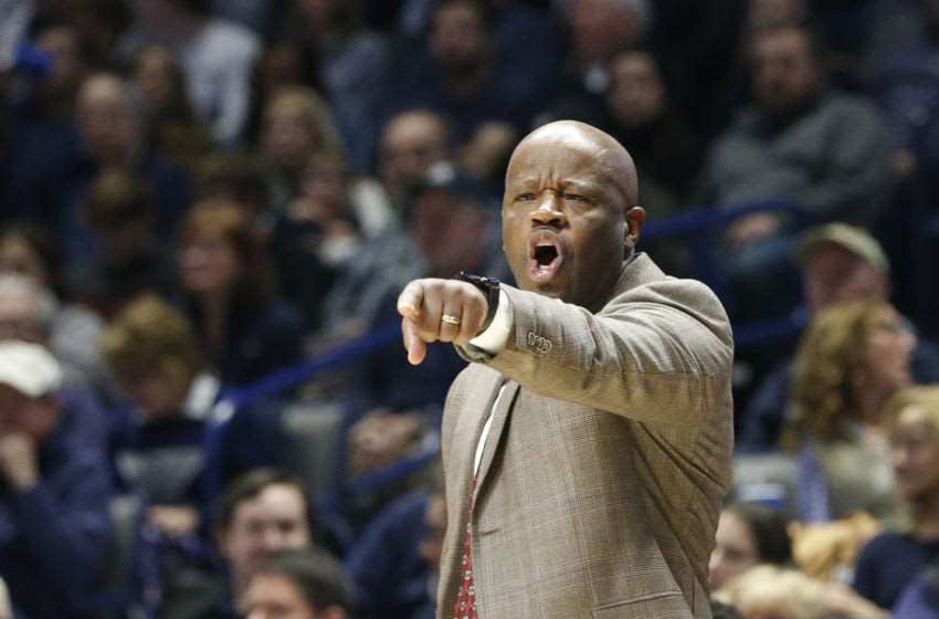 St. John's basketball head coach Mike Anderson (Mandatory Credit: Frank Victores-USA TODAY Sports)