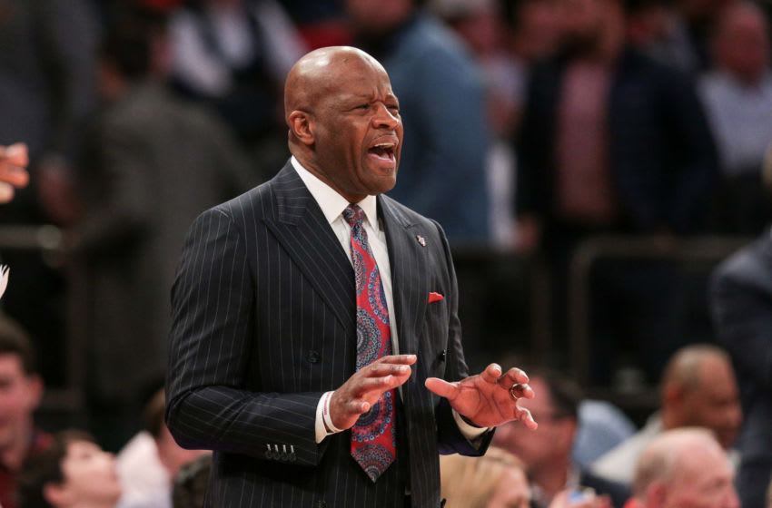 St. John's basketball head coach Mike Anderson (Mandatory Credit: Vincent Carchietta-USA TODAY Sports)