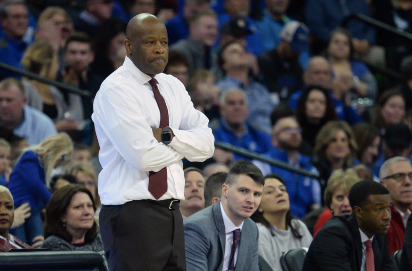 St. John's basketball head coach Mike Anderson. (Mandatory Credit: Steven Branscombe-USA TODAY Sports)