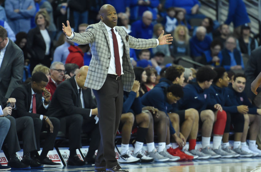 St. John's basketball head coach Mike Anderson (Mandatory Credit: Steven Branscombe-USA TODAY Sports)
