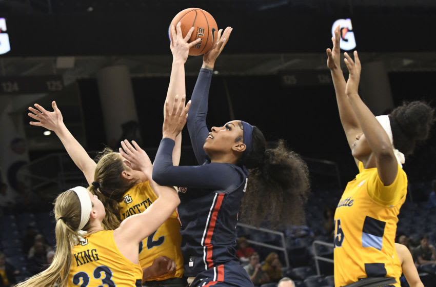 St. John's basketball forward Raven Farley (Mandatory Credit: David Banks-USA TODAY Sports)