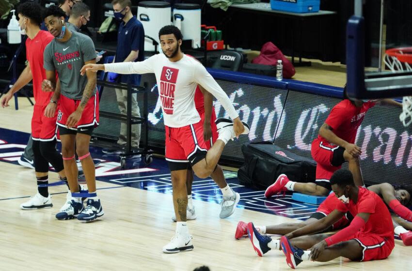 St. John's basketball forward Julian Champagnie (David Butler II-USA TODAY Sports)