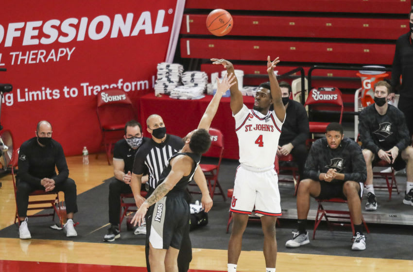 St. John's basketball guard Greg Williams Jr. (Wendell Cruz-USA TODAY Sports)