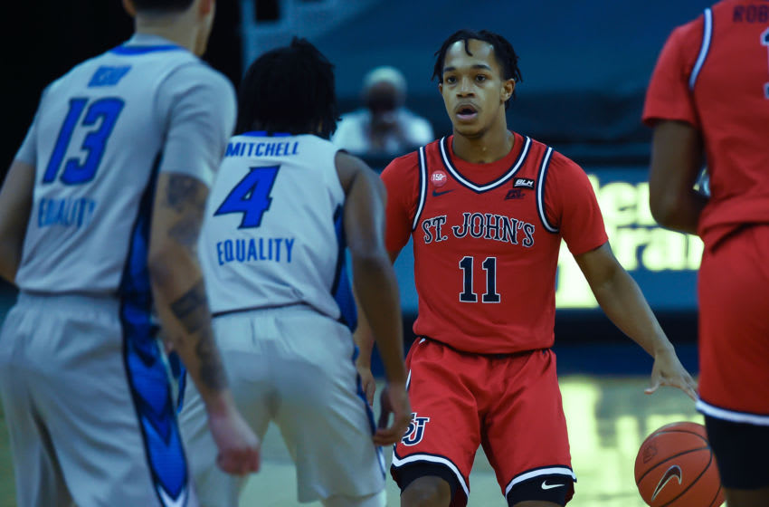 St. John's basketball guard John McGriff (Steven Branscombe-USA TODAY Sports)