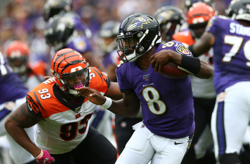 Cincinnati Bengals, Lamar Jackson(Photo by Dan Kubus/Getty Images)