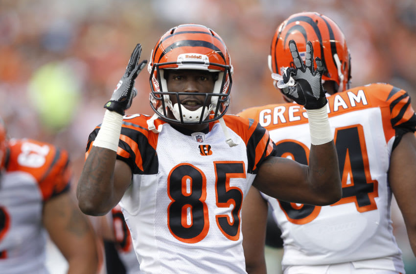 Cincinnati Bengals, Chad Ochocinco (Photo by Joe Robbins/Getty Images)