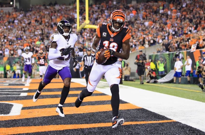 Cincinnati Bengals, A.J. Green (Photo by Andy Lyons/Getty Images)