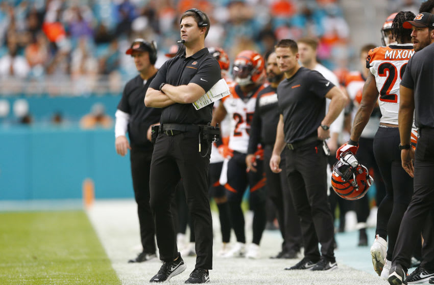 Cincinnati Bengals, Zac Taylor (Photo by Michael Reaves/Getty Images)