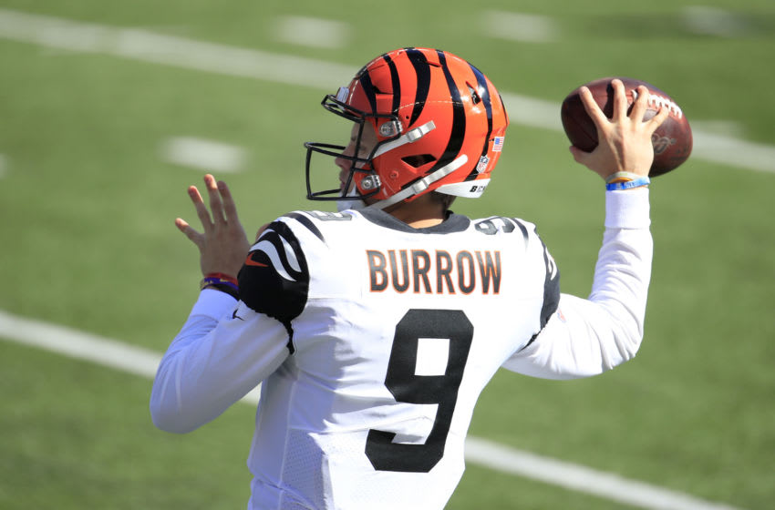 Quarterback Joe Burrow #9 of the Cincinnati Bengals (Photo by Andy Lyons/Getty Images)