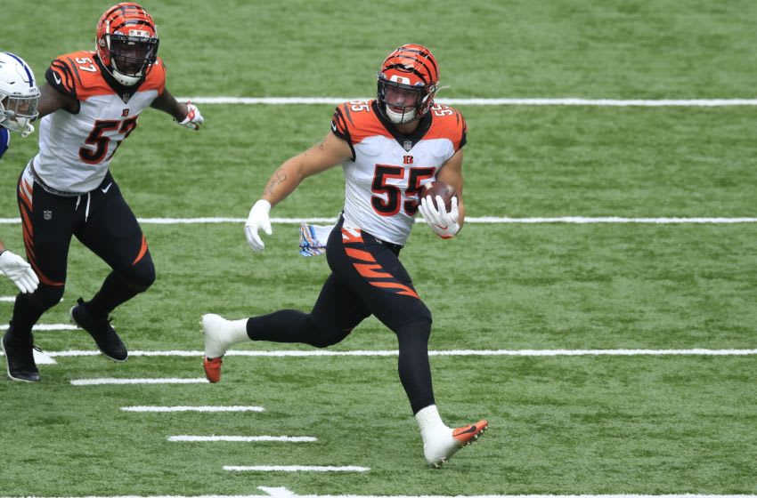Logan Wilson #55 of the Cincinnati Bengals (Photo by Andy Lyons/Getty Images)