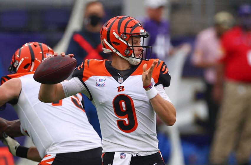 Joe Burrow #9, Cincinnati Bengals (Photo by Todd Olszewski/Getty Images)