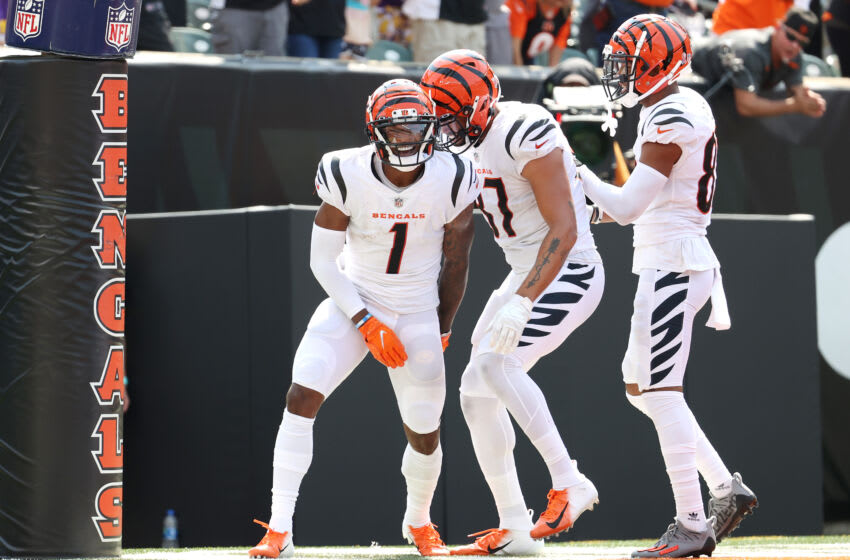 Ja'Marr Chase #1 of the Cincinnati Bengals (Photo by Andy Lyons/Getty Images)