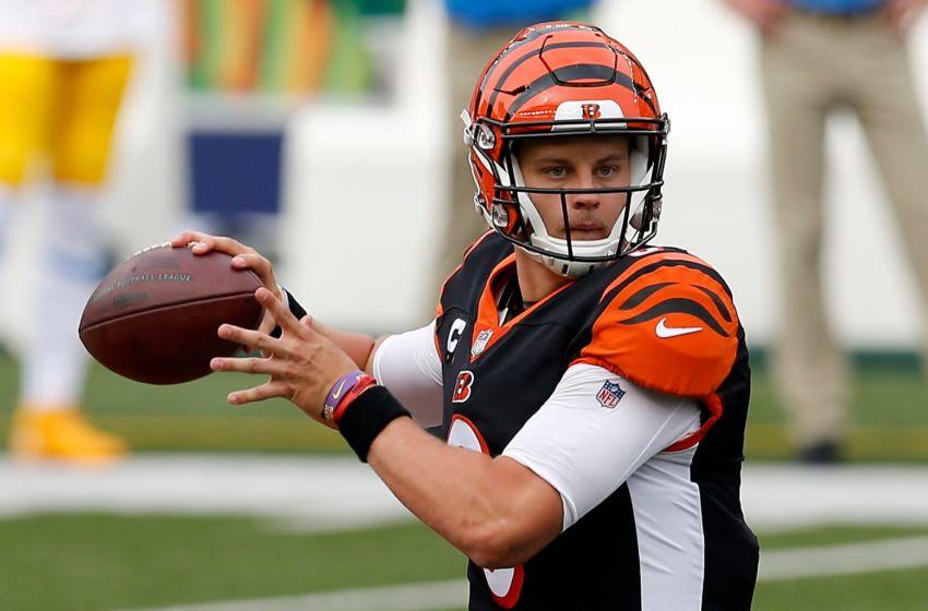 Cincinnati Bengals quarterback Joe Burrow (9) - Mandatory Credit: Sam Greene/Cincinnati Enquirer-USA TODAY NETWORK