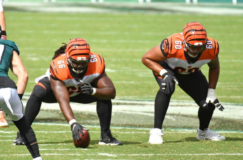 Cincinnati Bengals center Trey Hopkins (66) -Mandatory Credit: Eric Hartline-USA TODAY Sports