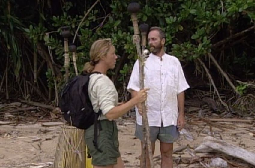Still from Survivor: Borneo episode 12