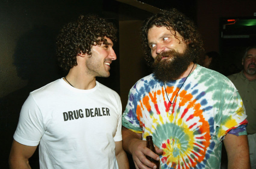 Survivor 3's Ethan Zohn (L) and Rupert Boneham (Photo by Kevin Winter/Getty Images)