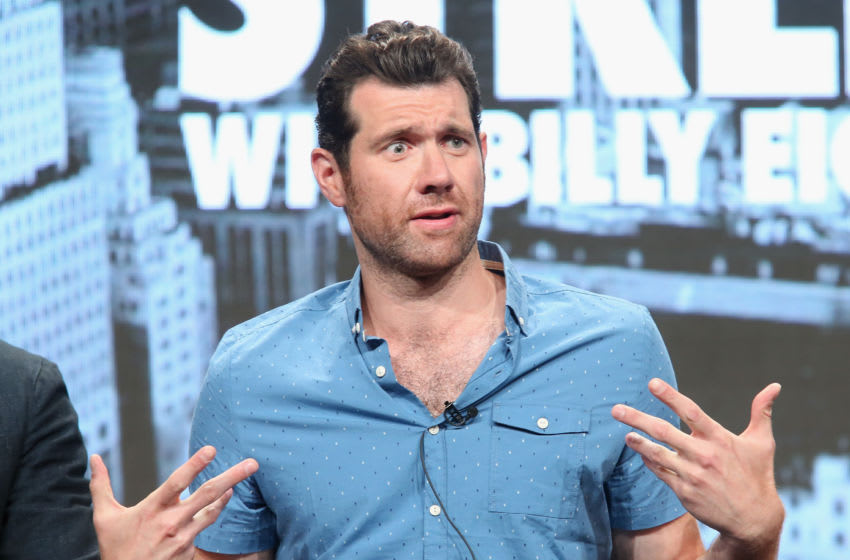 BEVERLY HILLS, CA - JULY 31: Host/executive producer Billy Eichner speaks onstage during the 'TruTV/Billy on the Street' panel discussion at the Turner portion of the 2016 Television Critics Association Summer Tour at at The Beverly Hilton Hotel on July 31, 2016 in Beverly Hills, California. (Photo by Frederick M. Brown/Getty Images)
