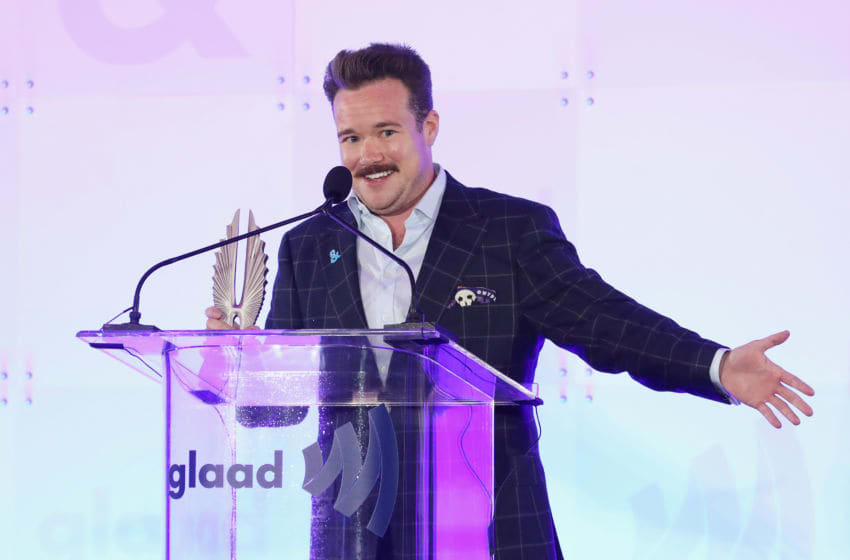 NEW YORK, NY - MAY 04: Zeke Smith speaks onstage during Rising Stars at the GLAAD Media Awards on May 4, 2018 at the New York Hilton Midtown in New York City. (Photo by Cindy Ord/Getty Images for GLAAD)