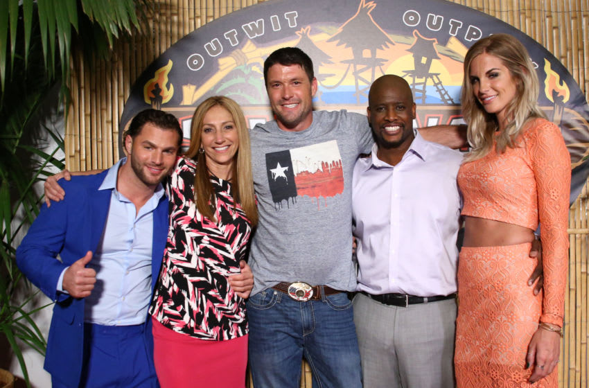 STUDIO CITY, CA - MAY 20: (L-R) Rodney Lavoie Jr, Carolyn Rivera, Mike Holloway, Will Sims II and Sierra Dawn Thomas attend CBS'