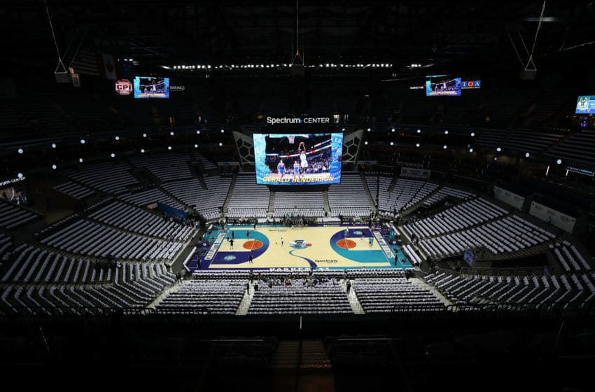 Charlotte Hornets Court (Photo by Streeter Lecka/Getty Images)