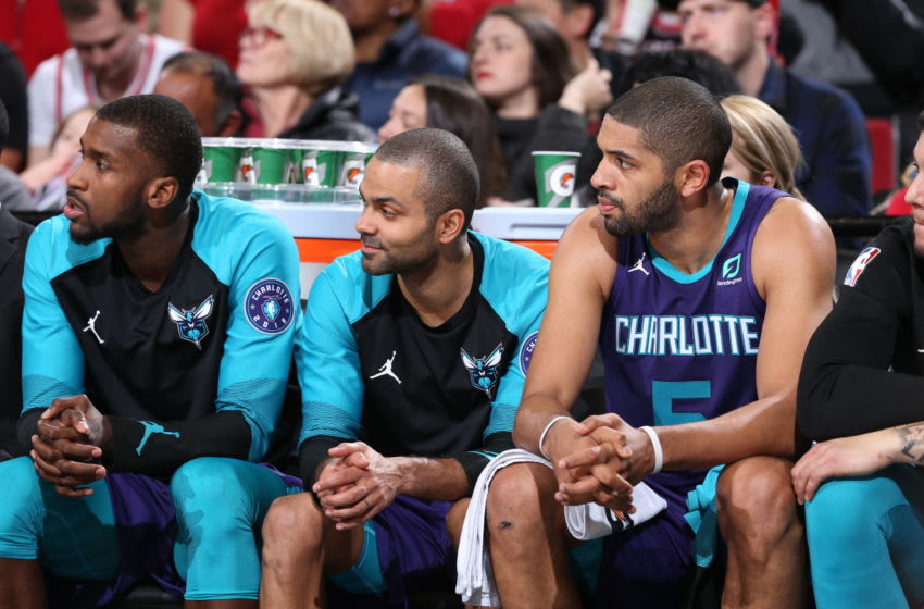 Charlotte Hornets Tony Parker (Photo by Sam Forencich/NBAE via Getty Images)