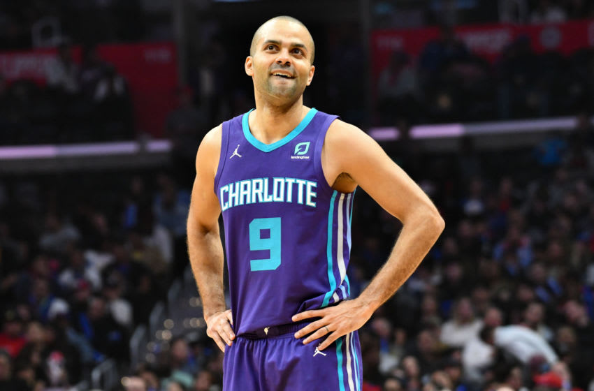 Charlotte Hornets Tony Parker. (Photo by Allen Berezovsky/Getty Images)