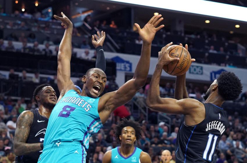 Charlotte Hornets Bismack Biyombo. (Jeff Siner/Charlotte Observer/Tribune News Service via Getty Images)