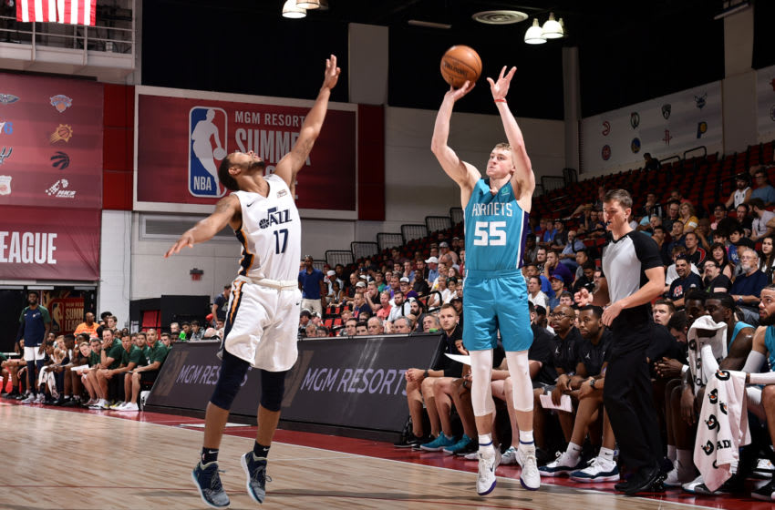 Charlotte Hornets J.P. Macura (Photo by David Dow/NBAE via Getty Images)