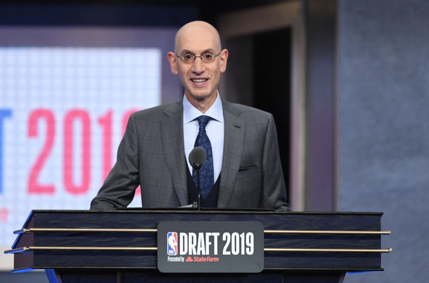NBA Adam Silver.(Photo by Sarah Stier/Getty Images)
