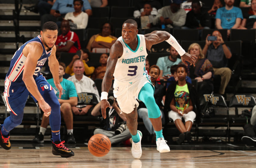 Charlotte Hornets Terry Rozier. (Photo by Kent Smith/NBAE via Getty Images)