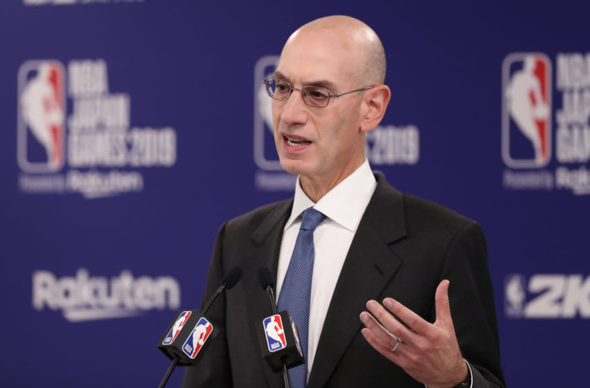 NBA Adam Silver. (Photo by Takashi Aoyama/Getty Images)