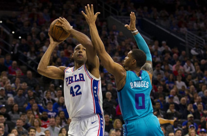 Philadelphia 76ers Al Horford. (Photo by Mitchell Leff/Getty Images)