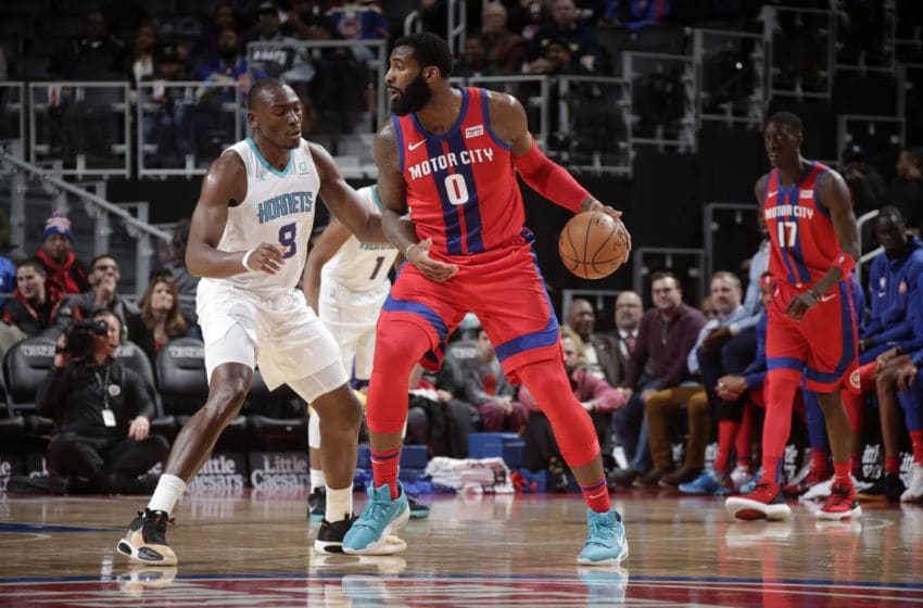 Detroit Pistons Andre Drummond. (Photo by Brian Sevald/NBAE via Getty Images)