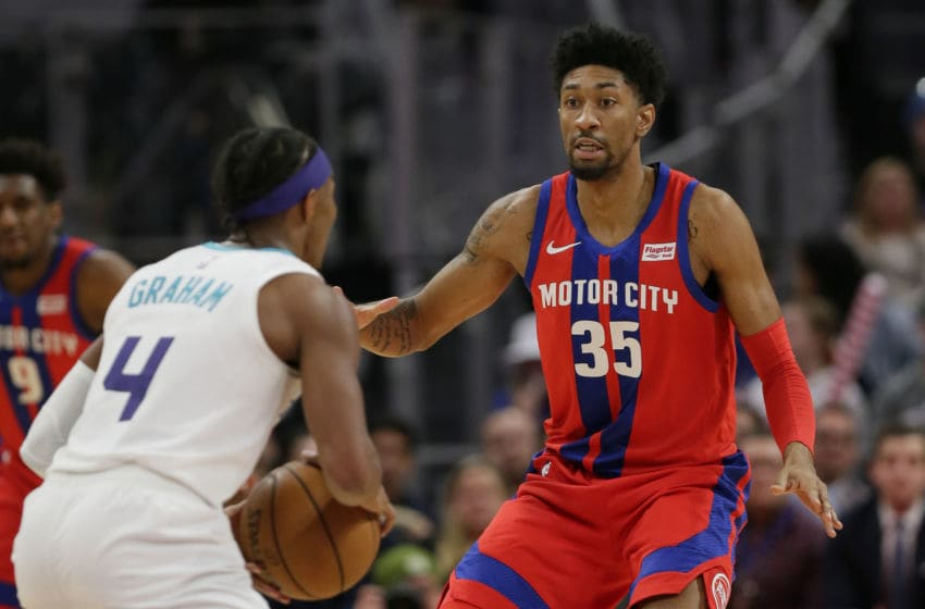 Detroit Pistons Christian Wood. (Photo by Duane Burleson/Getty Images)