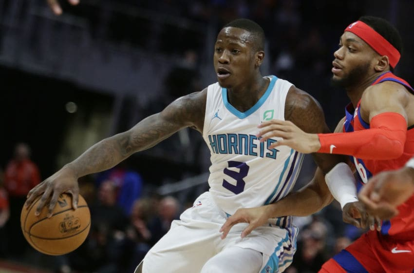 Charlotte Hornets Terry Rozier. (Photo by Duane Burleson/Getty Images)