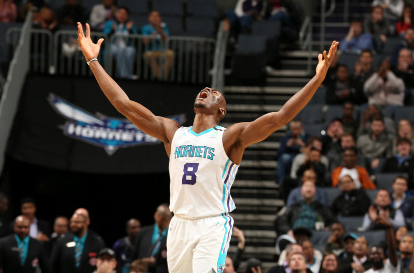 Charlotte Hornets Bismack Biyombo. (Photo by Kent Smith/NBAE via Getty Images)