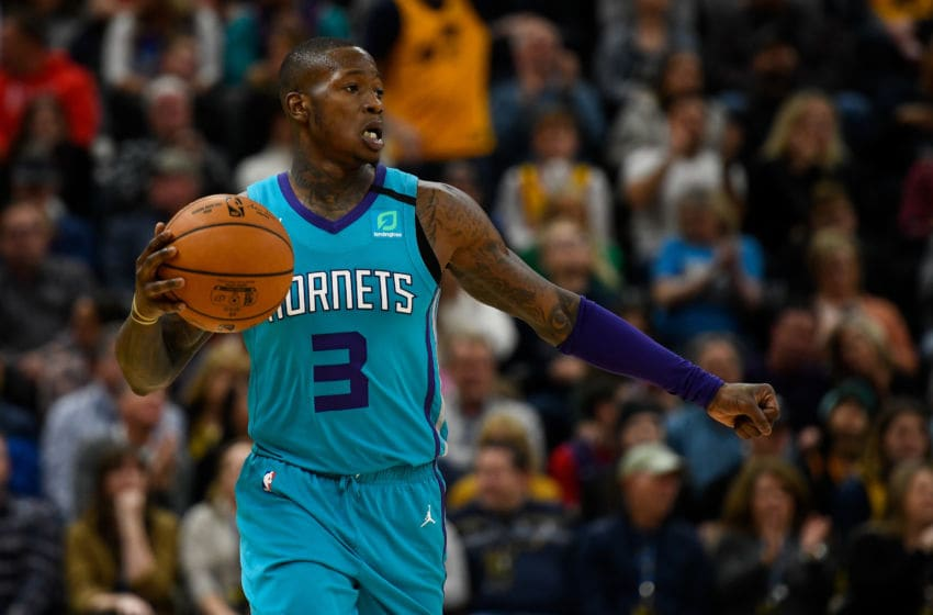 Charlotte Hornets Terry Rozier. (Photo by Alex Goodlett/Getty Images)