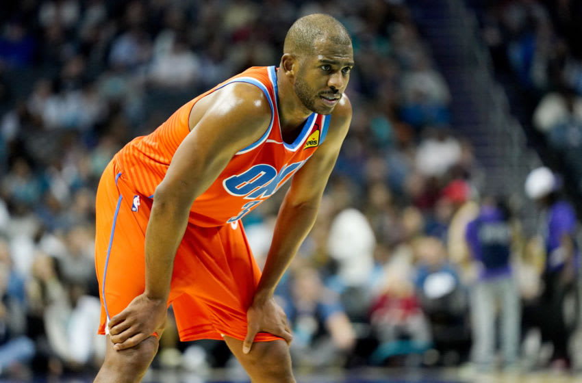 Oklahoma City Thunder Chris Paul. (Photo by Jacob Kupferman/Getty Images)