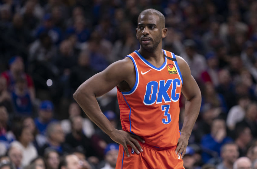 Oklahoma City Thunder, Chris Paul. (Photo by Mitchell Leff/Getty Images)