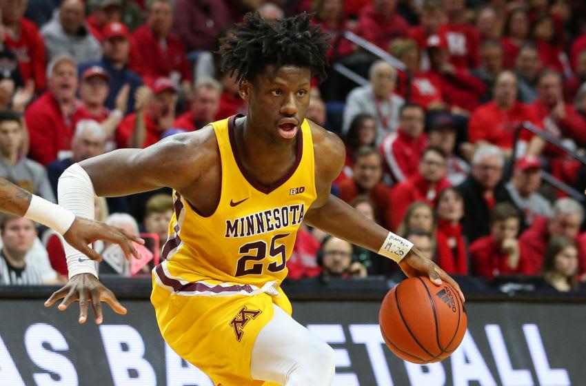 Minnesota University Daniel Oturu. (Photo by Rich Schultz/Getty Images)