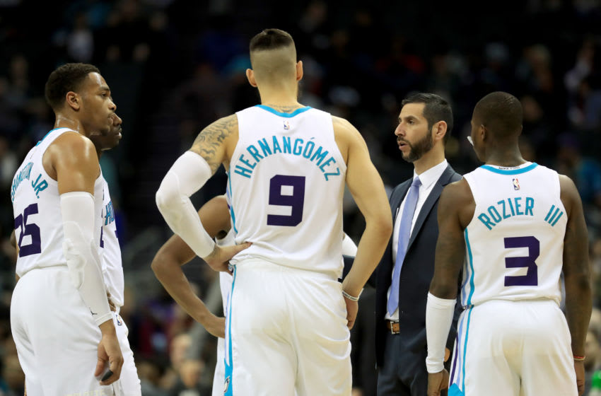 Charlotte Hornets James Borrego. (Photo by Streeter Lecka/Getty Images)
