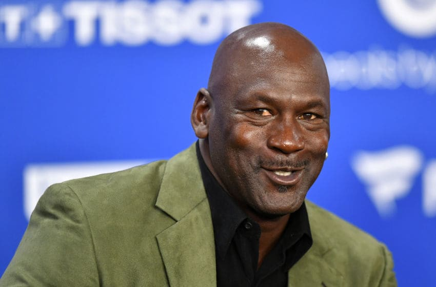 Charlotte Hornets' owner Michael Jordan. (Photo by Aurelien Meunier/Getty Images)