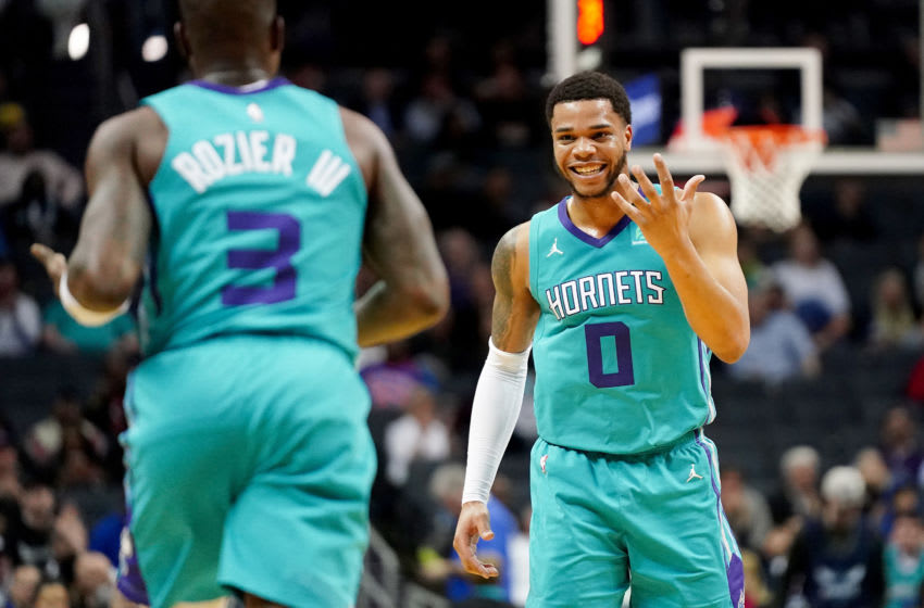 Miles Bridges, Terry Rozier Charlotte Hornets (Photo by Jacob Kupferman/Getty Images)