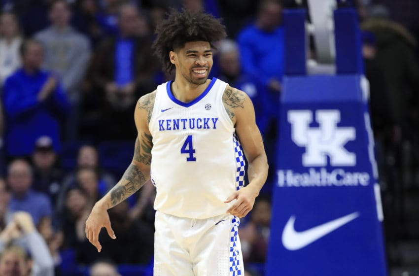 Kentucky Wildcats Nick Richards. (Photo by Andy Lyons/Getty Images)