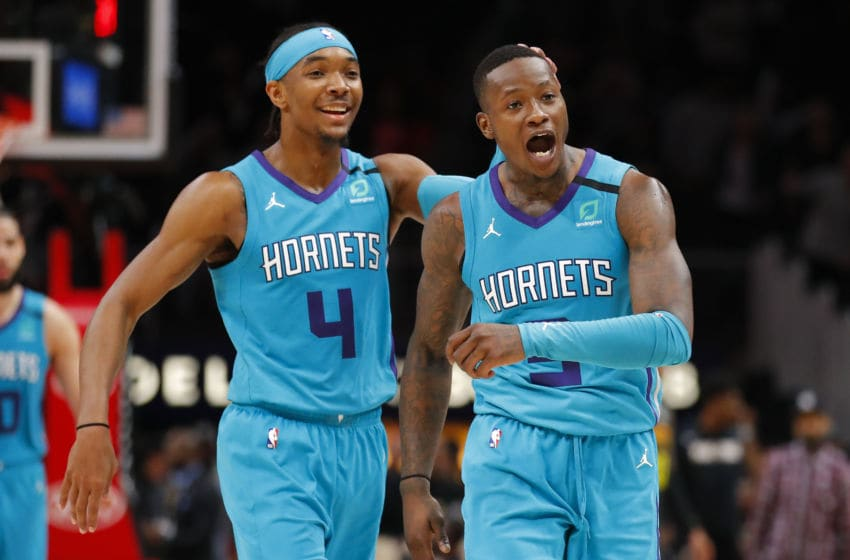 Charlotte Hornets Devonte; Graham. (Photo by Todd Kirkland/Getty Images)