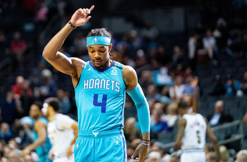 Charlotte Hornets Devonte' Graham. (Photo by Jacob Kupferman/Getty Images)