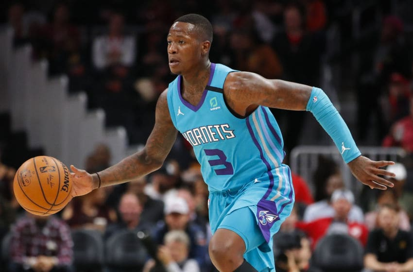 Charlotte Hornets Terry Rozier. (Photo by Todd Kirkland/Getty Images)