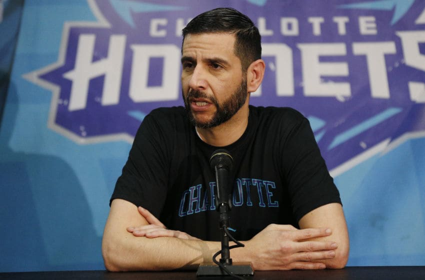 Charlotte Hornets James Borrego. (Photo by Michael Reaves/Getty Images)