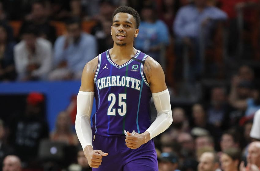 Charlotte Hornets PJ Washington. (Photo by Michael Reaves/Getty Images)