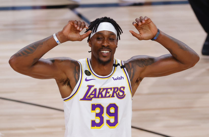 Los Angeles Lakers Dwight Howard. (Photo by Kevin C. Cox/Getty Images)